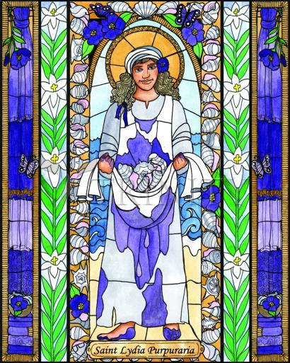 Saint Lydia Purpuraria