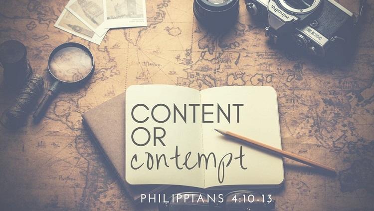 Content or contempt